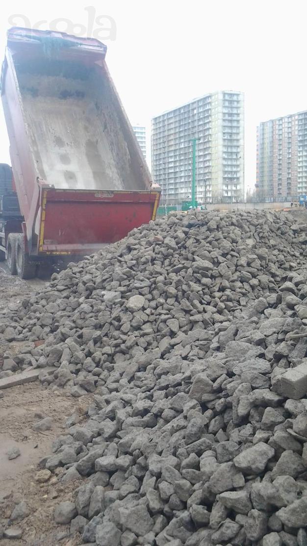 Бой бетона самовывоз цветник бетон